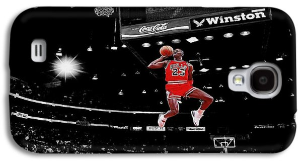 Flight Galaxy S4 Cases - Air Jordan Galaxy S4 Case by Brian Reaves