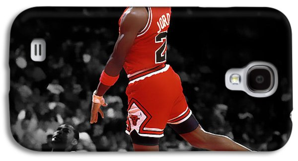 Patrick Ewing Galaxy S4 Cases - Air Jordan I Believe I Can Fly Galaxy S4 Case by Brian Reaves