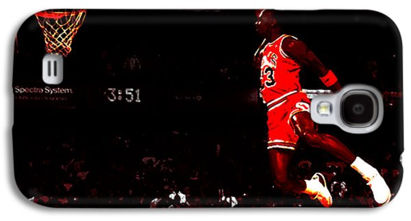 Patrick Ewing Galaxy S4 Cases - Air Jordan in Flight III Galaxy S4 Case by Brian Reaves