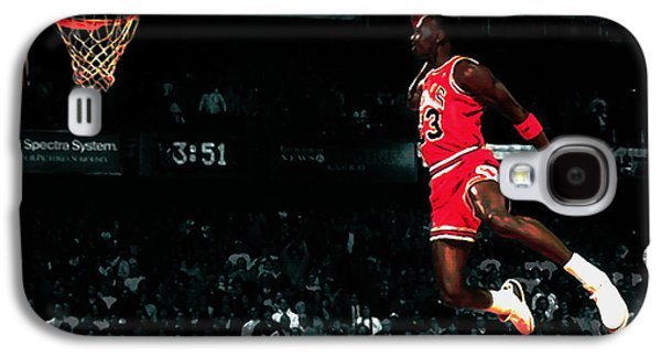 Patrick Ewing Galaxy S4 Cases - Air Jordan in Flight IV Galaxy S4 Case by Brian Reaves