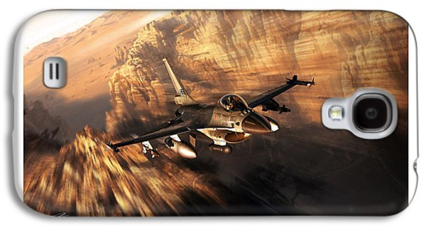 Iraq Prints Galaxy S4 Cases - Air Police Galaxy S4 Case by Peter Van Stigt