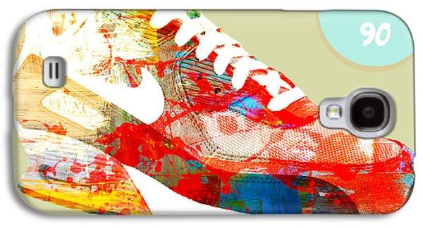 Nike Digital Art Galaxy S4 Cases - Airmax 90 Galaxy S4 Case by Mops