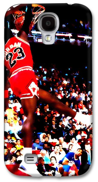 Patrick Ewing Galaxy S4 Cases - Airness Galaxy S4 Case by Brian Reaves