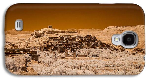 Ancient Galaxy S4 Cases - Ait Benhaddou Galaxy S4 Case by Ellie Perla