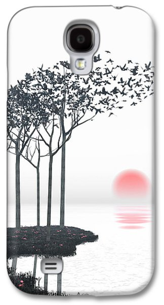 Digital Galaxy S4 Cases - Aki Galaxy S4 Case by Cynthia Decker