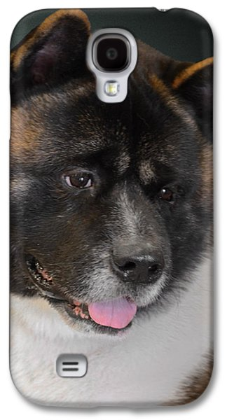 Working Breed Galaxy S4 Cases - Akita - A Dogs Tale Galaxy S4 Case by Christine Till
