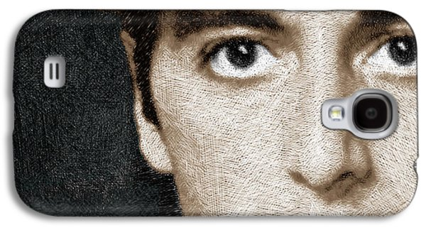 The Godfather Galaxy S4 Cases - Al Pacino as Michael Corleone Galaxy S4 Case by Tony Rubino