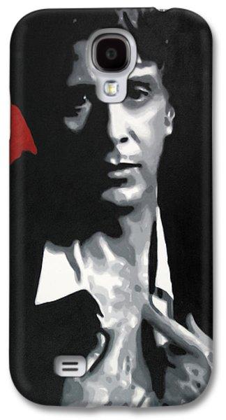 Francis Ford Coppola Galaxy S4 Cases - Al Pacino  Galaxy S4 Case by Luis Ludzska