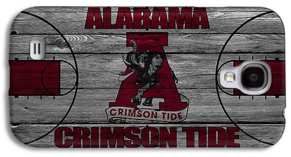 Crimson Tide Galaxy S4 Cases - Alabama Crimson Tide Galaxy S4 Case by Joe Hamilton