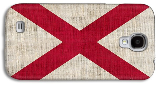 Alabama Galaxy S4 Cases - Alabama State flag Galaxy S4 Case by Pixel Chimp