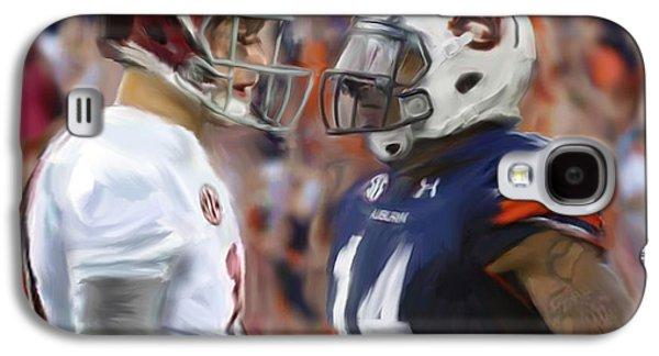 University Of Alabama Galaxy S4 Cases - Alabama vs Auburn Galaxy S4 Case by Mark Spears