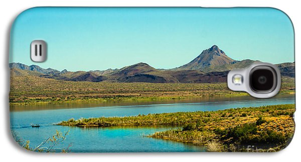 Williams Dam Galaxy S4 Cases - Alamo Lake Galaxy S4 Case by Robert Bales