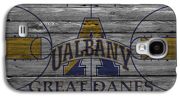 Dunk Galaxy S4 Cases - Albany Great Danes Galaxy S4 Case by Joe Hamilton