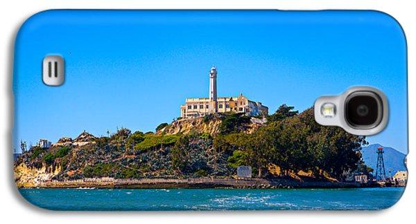 Alcatraz Photographs Galaxy S4 Cases - Alcatraz Island Galaxy S4 Case by James O Thompson
