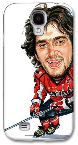 Person Galaxy S4 Cases - Alexander Ovechkin Galaxy S4 Case by Art