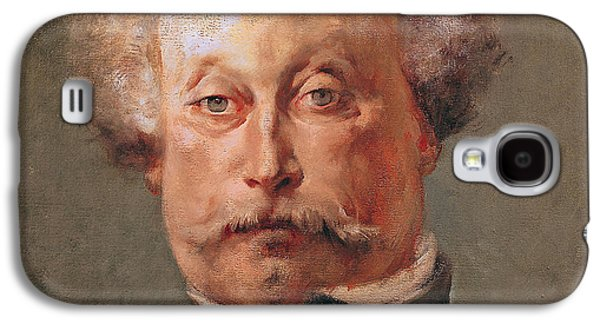 Mustache Galaxy S4 Cases - Alexandre Dumas Galaxy S4 Case by Georges Clairin