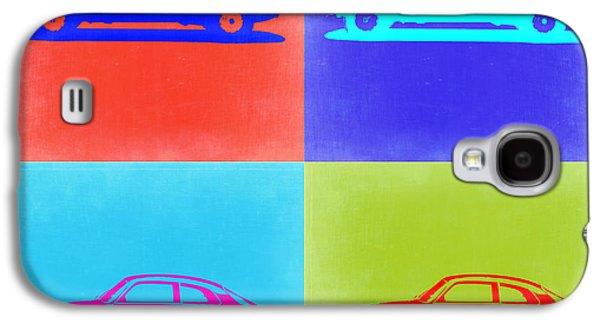 Concept Mixed Media Galaxy S4 Cases - Alfa Romeo GTV Pop Art 2 Galaxy S4 Case by Naxart Studio