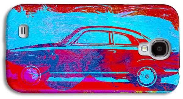 Old Car Drawings Galaxy S4 Cases - Alfa Romeo  Watercolor 1 Galaxy S4 Case by Naxart Studio