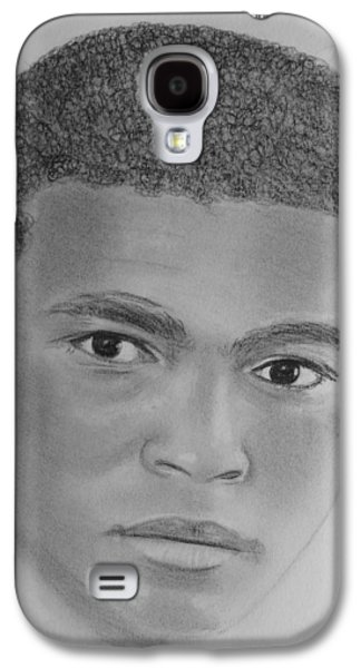 Boxer Drawings Galaxy S4 Cases - Ali Galaxy S4 Case by Paul Blackmore