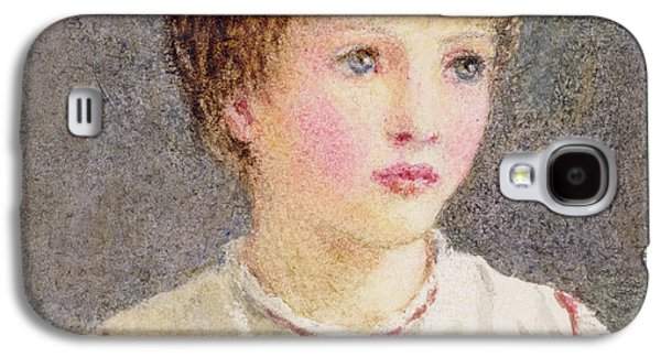 Youthful Paintings Galaxy S4 Cases - Alice Galaxy S4 Case by Helen Allingham