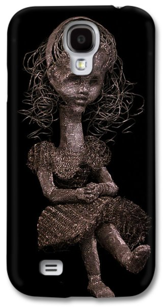 Girl Sculptures Galaxy S4 Cases - Alice Galaxy S4 Case by Sonya J