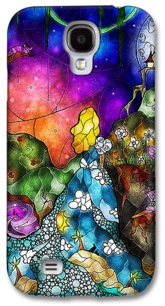 March Hare Galaxy S4 Cases - Alices Wonderland Galaxy S4 Case by Mandie Manzano