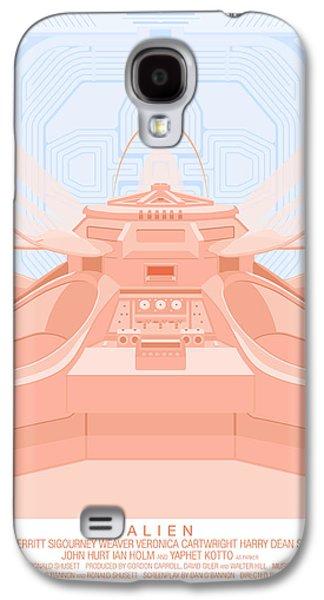 Alien Galaxy S4 Cases - Alien 79 Galaxy S4 Case by Peter Cassidy