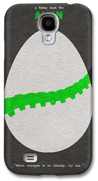 Alien Galaxy S4 Cases - Alien Galaxy S4 Case by Ayse Deniz