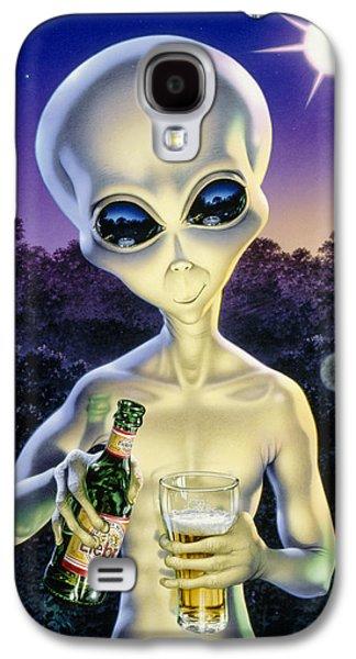 Alien Brew Galaxy S4 Case by Steve Read