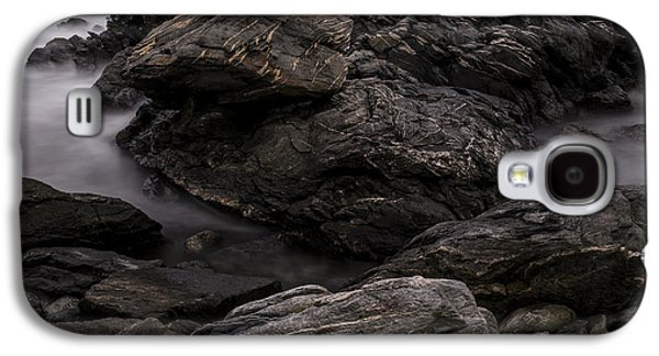 Surreal Landscape Galaxy S4 Cases - Alien Landscape Galaxy S4 Case by Andrew Pacheco