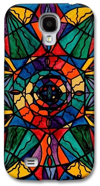 Printed Galaxy S4 Cases - Alignment Galaxy S4 Case by Teal Eye  Print Store