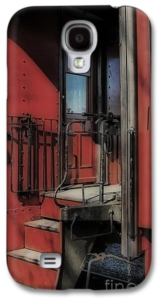 Recently Sold -  - Transportation Photographs Galaxy S4 Cases - All Aboard Galaxy S4 Case by Skip Willits