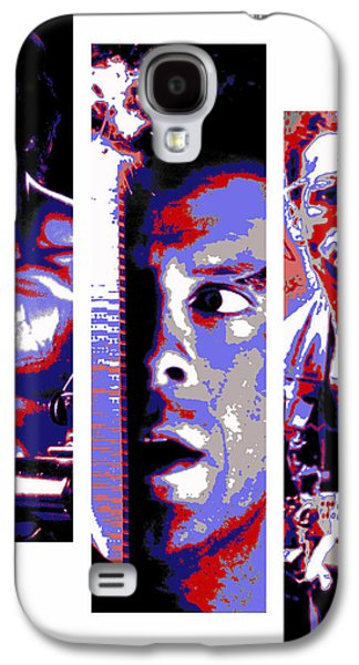 Stallone Digital Galaxy S4 Cases - All-American 80s Action Movies Galaxy S4 Case by Dale Loos Jr