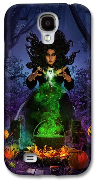 All Hallows Eve Galaxy S4 Case by Cassiopeia Art