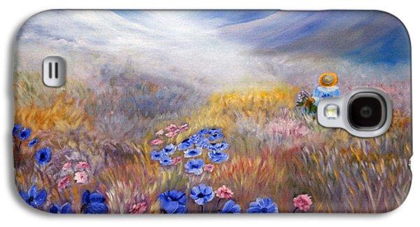 Dreamscape Galaxy S4 Cases - All In A Dream - Impressionism Galaxy S4 Case by Georgiana Romanovna