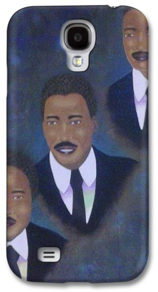Portraits Tapestries - Textiles Galaxy S4 Cases - All The Kings Men Galaxy S4 Case by Steven Taylor
