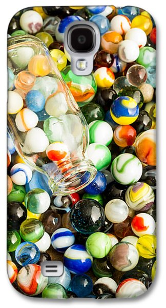 Toys Galaxy S4 Cases - All the marbles Galaxy S4 Case by Edward Fielding
