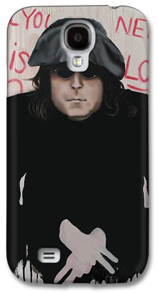 Ringo Galaxy S4 Cases - All You Need Is Love Galaxy S4 Case by Anthony Falbo