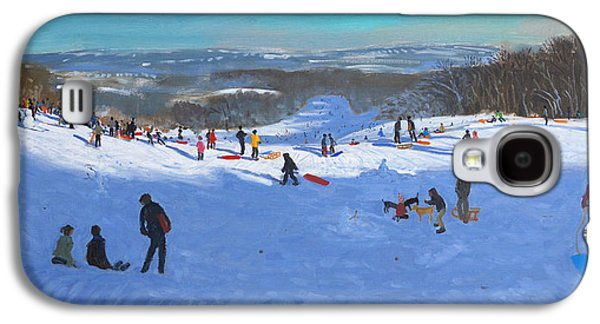 Sledge Galaxy S4 Cases - Allestree Park Derby Galaxy S4 Case by Andrew Macara