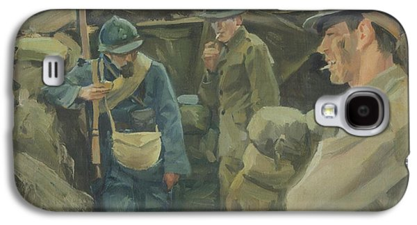 Wwi Paintings Galaxy S4 Cases - Allies Galaxy S4 Case by Marcus Pierno