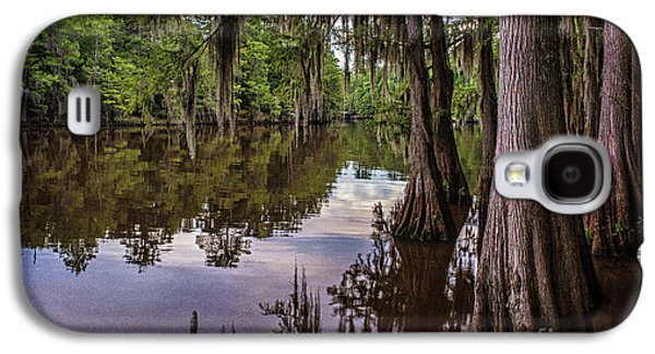 Tamyra Ayles Galaxy S4 Cases - Alligator Swamp on Caddo Lake Galaxy S4 Case by Tamyra Ayles