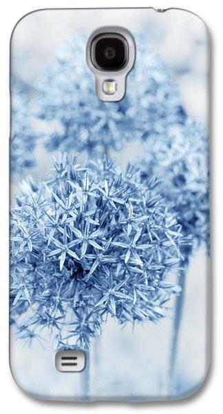 Garden Images Galaxy S4 Cases - Allium Galaxy S4 Case by Frank Tschakert