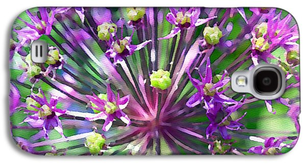 Gardening Photography Galaxy S4 Cases - Allium series - Close Up Galaxy S4 Case by Moon Stumpp