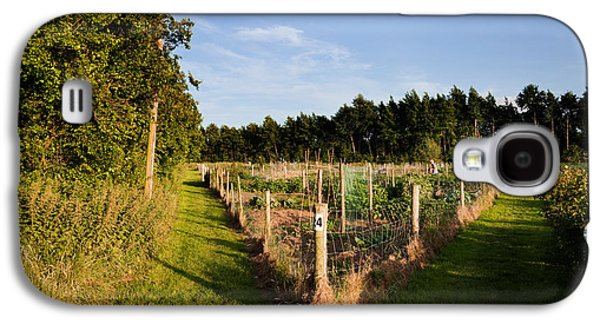 Gardening Photography Galaxy S4 Cases - Allotment Near The Wonderful Barn Galaxy S4 Case by Panoramic Images