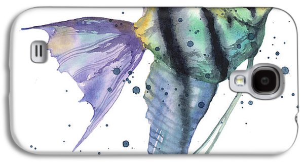 Alluring Angelfish Galaxy S4 Case by Alison Fennell
