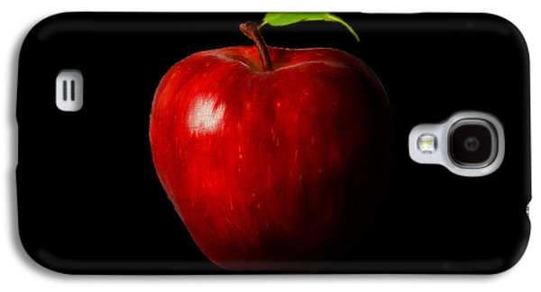Apple Galaxy S4 Cases - Alluring Red Galaxy S4 Case by Lourry Legarde
