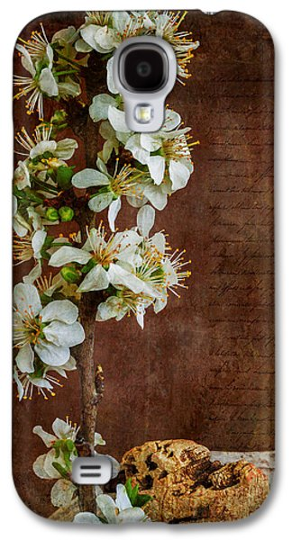 Fruit Tree Art Galaxy S4 Cases - Almond Blossom Galaxy S4 Case by Marco Oliveira