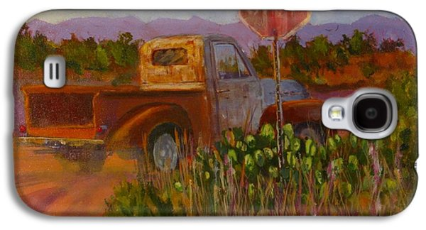 Sonora Paintings Galaxy S4 Cases - Almost Home Galaxy S4 Case by Bill Tomsa