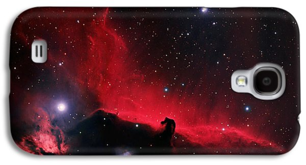 Constellations Paintings Galaxy S4 Cases - Alnitak region in Orion Galaxy S4 Case by Celestial Images