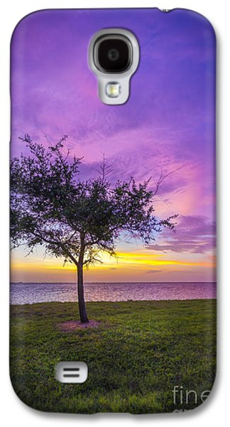 Alone At Sunset Galaxy S4 Case by Marvin Spates